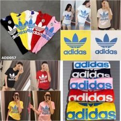 Áo Thun Inisex Nam Nữ Adidas In Nổi 3D ADD057 Thái Lan