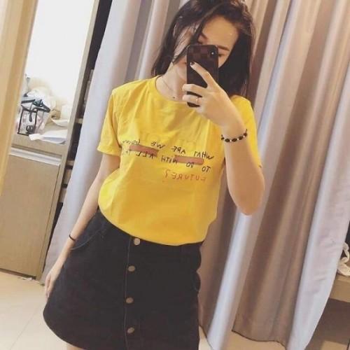 Áo Thun Áo Phông In Chữ Gucci TOP009 Thái Lan Chính Hãng