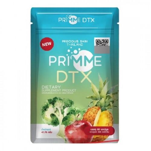 Viên Uống Giảm Cân Rau Củ Quả Primme Dtx Thái Lan [Detox Primme Mẫu Mới]