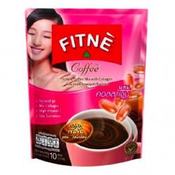 Cà Phê Giảm Cân Đẹp Da Fitne Collagen CTC113 Thái Lan [10 gói]