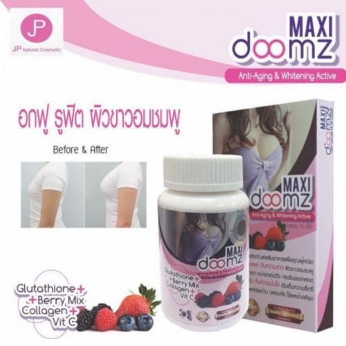 Thuốc Nở Ngực Trắng Da Maxi Doomz Thái Lan