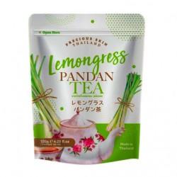 Trà Sả Lá Dứa Lemongress Pandan Tea 120g Thái Lan