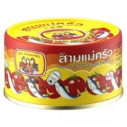 Hộp Cá Thu Sốt Cà 3 Cô Gái 190g Thái Lan