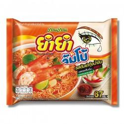 Mì Tôm Chua Cay Lẩu Thái Tom Yum Yum Yum 67g [Cam]