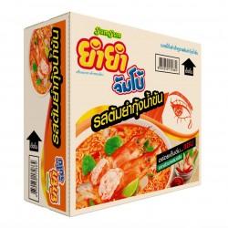 Thùng 30 Gói Mì Tôm Chua Cay Lẩu Thái Yum Yum Tom Yum Thái Lan [Cam]