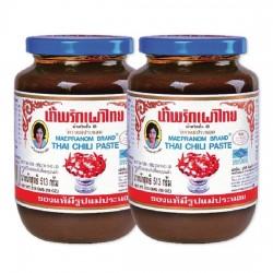 Combo 2 Hũ Sa Tế Maepranom Thai Chili Paste 513g Thái Lan