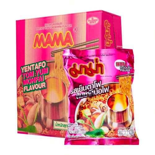 Mì Lẩu Hải Sản Yentafo Tom Yum Mama CTC102 Thái Lan