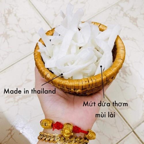 Mứt Dừa Thơm Mùi Lài Thái Lan - Mứt Tết 2021