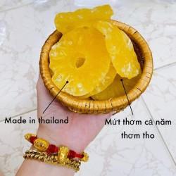 Mứt Thơm/Khóm/Dứa Thái Lan - Mứt Tết 2021