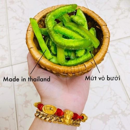 Mứt Vỏ Bưởi Sấy Thái Lan - Mứt Tết 2021