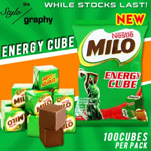 Kẹo Milo Energy Cube bịch 100 viên loại 275g