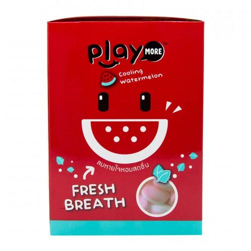 Hộp 12 Gói Kẹo Play More Dưa Hấu 12g