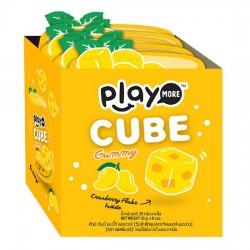 Lốc 6 Bịch Kẹo Play More Cube Vị Xoài Dạng Thạch 25g Thái Lan