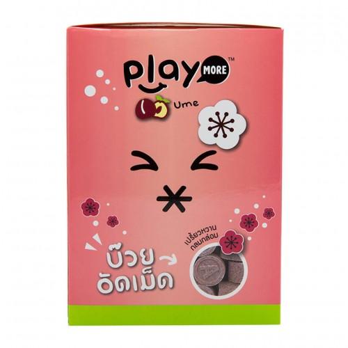 Hộp 12 Gói Kẹo Play More Xí Muội 12g