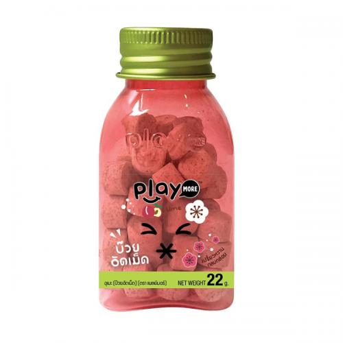 Kẹo ngậm Play More xí muội dạng hủ thái lan 22g - New 2018