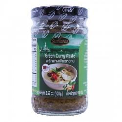 Sốt Cà Ri Xanh Sutharos Green Curry Paste 100g Thái Lan