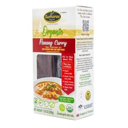 [Organic] Gia Vị Nấu Món Cà Ri Panang Organic 200g Sutharos Thái Lan