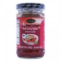 Sốt Cà Ri Đỏ Sutharos Red Curry Paste 100g Thái Lan