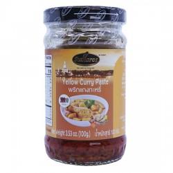 Sốt Cà Ri Vàng Sutharos Yellow Curry Paste 100g Thái Lan