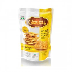 Bánh Gạo Lứt Chà Bông Thịt Heo Jor Nguan Jasmine Rice Cracker With Flossy Pork