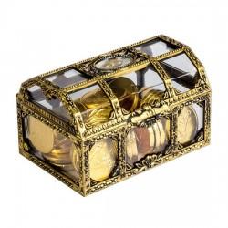 Rương Kẹo Socola Đồng Tiền Vàng Tài Lộc Choc Coin 112g Thái Lan [14x39g]