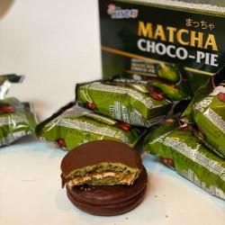 Hộp Bánh Matcha Choco-Pie Trà Xanh CTC109 Thái Lan [25gx12]