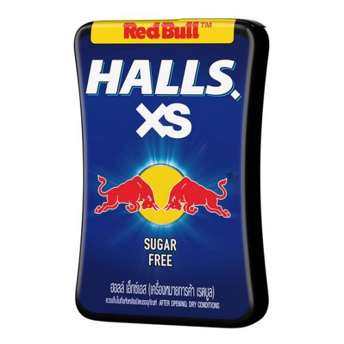 Kẹo Bò Húc Halls XS Red Bull Thái Lan