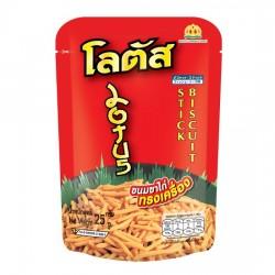 Bánh Que Tôm Lotus Stick Biscuit 25g Thái Lan [Đỏ]