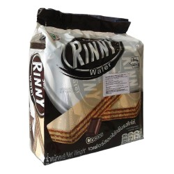Bánh Xốp Kem Sô Cô La Rinny Wafer Cocoa CTC106 Thái Lan Nhập Khẩu [12+3 Cái]