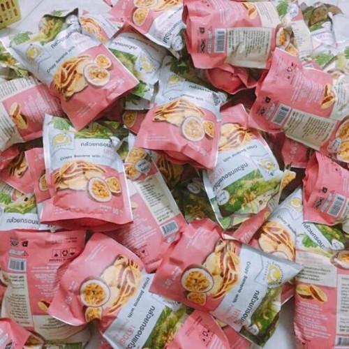 Bánh chuối kẹp chanh dây Tamarind thái lan 90g