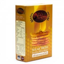 Bánh chuối mật ong thái lan - Solar Dried Banana With Honey Pa Pien