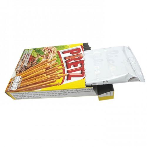 Bánh que Glico vị thịt bầm - Pretz Larb Flavour thái lan x 1 lốc