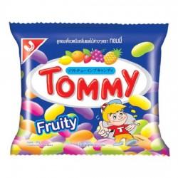 Kẹo Dẻo Tommy Fruity Trái Cây Thái Lan Gói 20g x 1 Dây