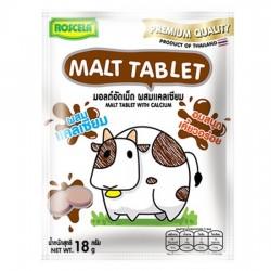 Kẹo Sữa Bò Bổ Sung Canxi Malt Tablet Vị Socola 18g Thái Lan