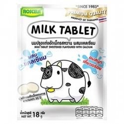 Kẹo Sữa Bò Bổ Sung Canxi Milk Tablet Vị Vani 18g Thái Lan