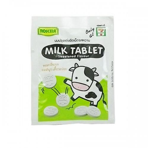 Kẹo Sữa Bò Roscela Milk Tablet Thái Lan Vị Vani