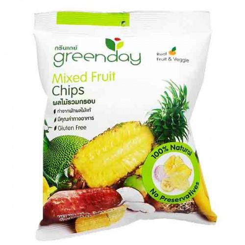 Trái cây hỗn hợp sấy khô GreenDay 55g