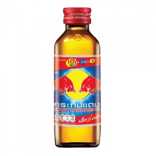 Lốc 10 Chai Nước Tăng Lực Red Bull Kratingdaeng Extra 145ml Thái Lan