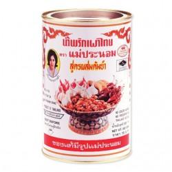 Dầu Sa Tế Nấu Lẩu Thái Maepranom Chili In Oil For Tom Yum 900g Thái Lan
