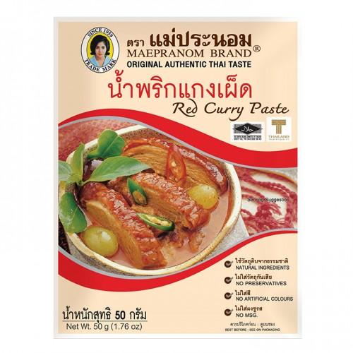 Gia vị cà ri đỏ thái lan - Red Curry Paste thái lan 50g