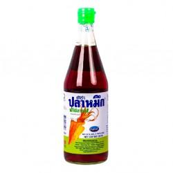Nước Mắm Cá Mực Eufood Fish Sauce Squid Brand 725ml Thái Lan Nhập Khẩu