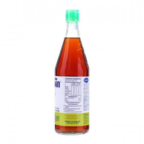 Nước Mắm Cá Mực Eufood Fish Sauce Squid Brand 725ml Thái Lan