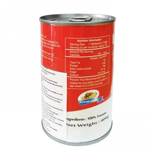 Sốt cà chua xay nhuyễn Eufood Tomato Paste 400g