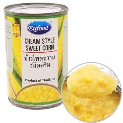 Súp Ngô Ngọt Eufood Cream Style Sweet Corn Thái Lan 425g