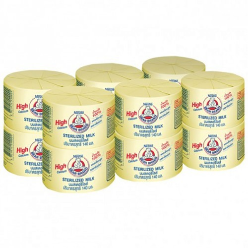 Sữa gấu Nestle thái lan giúp tăng chiều cao cho bé 140ml Pack 12