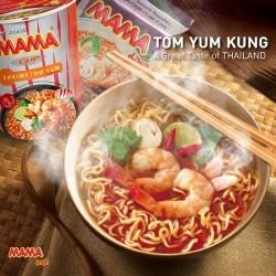 Review Mì Mama TomYum Tôm Chua Cay Cực Ngon Của Thái Lan