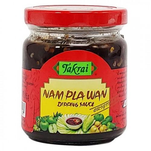 Mắm Ruốc Chấm Xoài Takrai Namplawan Dipping Sauce 215g Thái Lan [Cay]