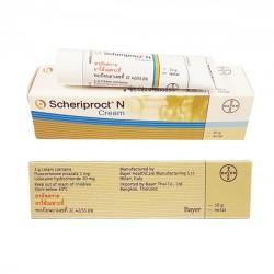 Kem bôi trị bệnh trĩ  Scheriproct N Cream 10g