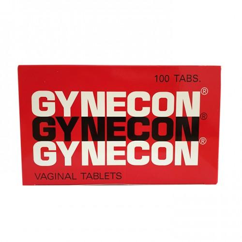 Vỉ 5 Viên Thuốc Đặt Phụ Khoa Gynecon Thái Lan