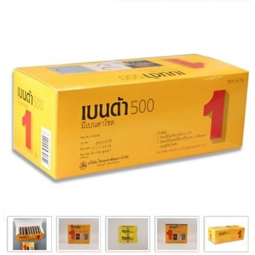 Thuốc Tẩy Giun Sán Benda 500 Thái Lan